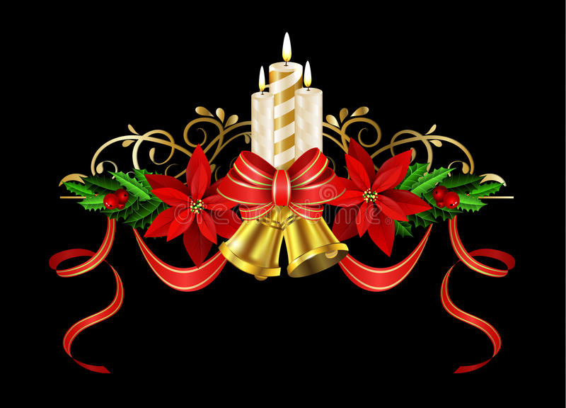 Download Элементы рождества для ваших дизайнов Иллюстрация вектора - иллюстрации насчитывающей падуб, свечки: 81805666