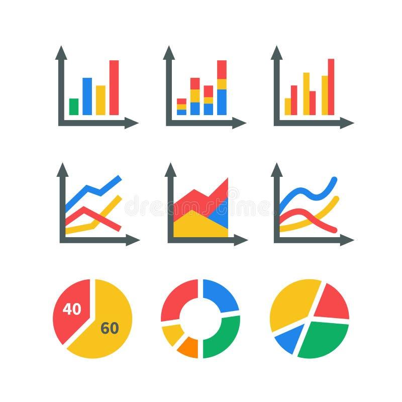 Элементы рынка данных стоковое фото