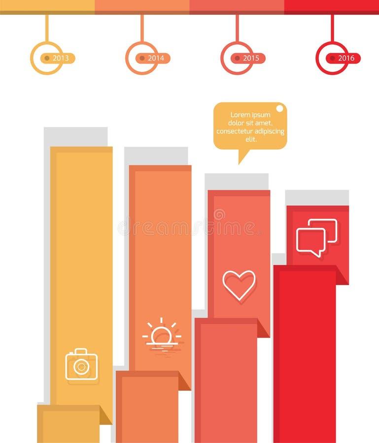 элементы Info-графика бесплатная иллюстрация