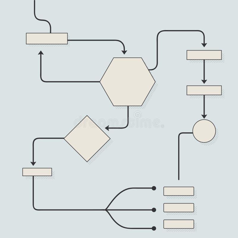 Элементы Infographic иллюстрация штока