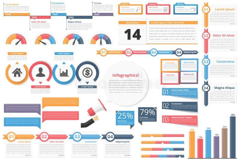 элементы infographic бесплатная иллюстрация