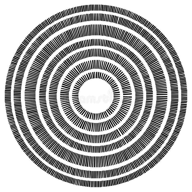 Download Элемент концентрического круга сделанный прямоугольников Геометрический круг D Иллюстрация вектора - иллюстрации насчитывающей оптически, разносторонне: 81813408