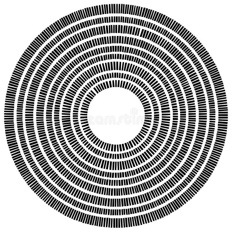 Download Элемент концентрического круга сделанный прямоугольников Геометрический круг D Иллюстрация вектора - иллюстрации насчитывающей абстракции, прямоугольник: 81813428