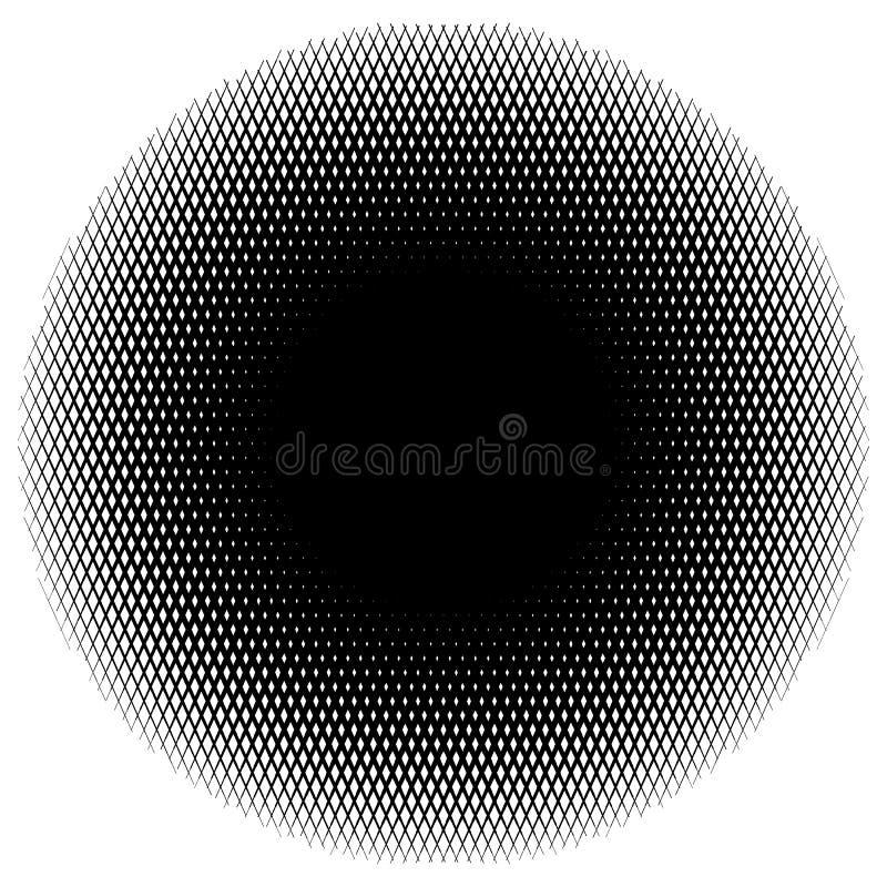 Download Элемент круга полутонового изображения линий формируя решетку Monochrome половина Иллюстрация вектора - иллюстрации насчитывающей скрежетать, геометрическо: 81800685