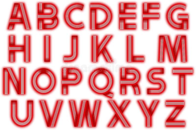 Элемент Scrapbooking стиля диско алфавита цифров иллюстрация штока
