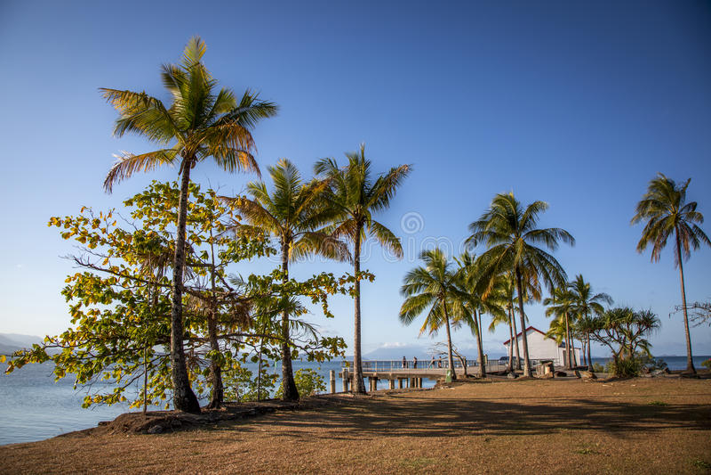 Эллинг Port Douglas стоковые изображения rf