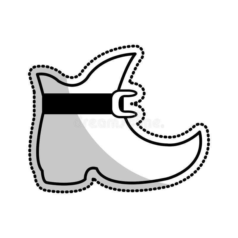 эльф как изображение значка шаржа ботинка бесплатная иллюстрация