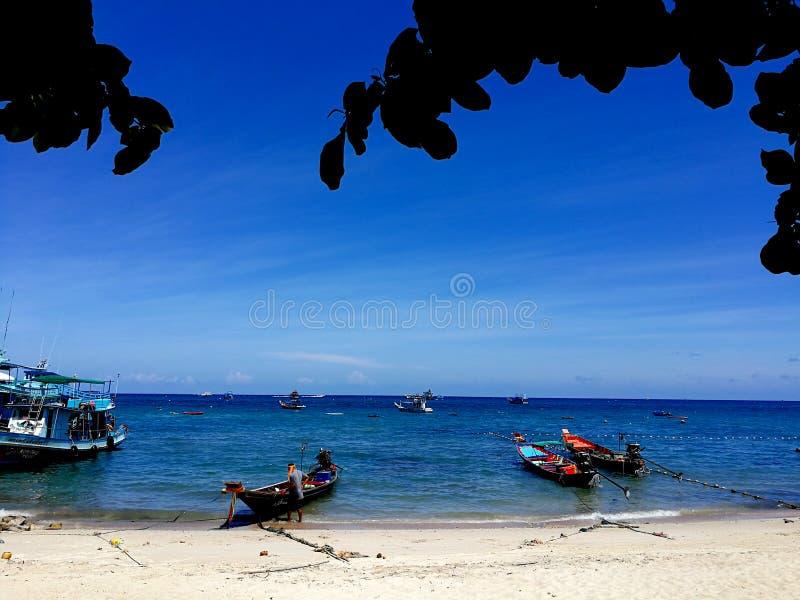 Юани Nang Koh: Уникальный рай в Таиланде стоковое изображение