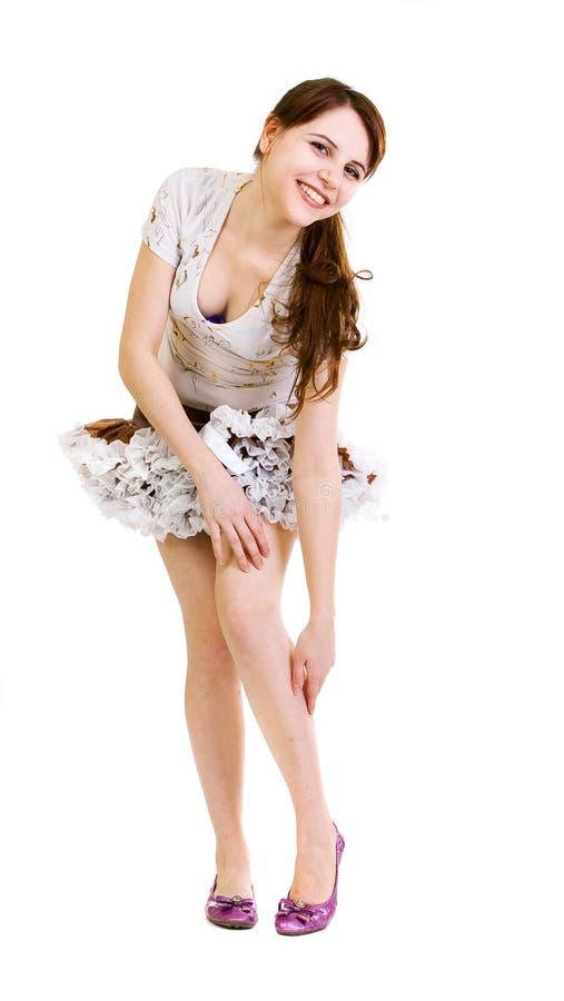 юбка девушки стоковое фото rf