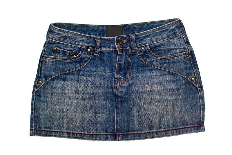 юбка джинсыов стоковое фото rf