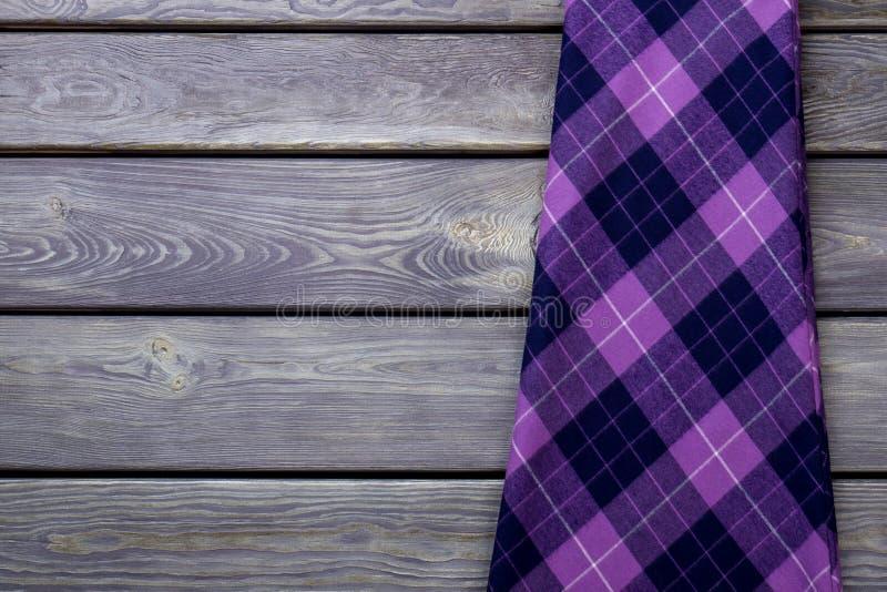 Юбка зимы плоского положения фиолетовая стоковые фотографии rf