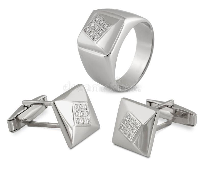 ювелирные изделия диамантов укомплектовывают личным составом комплект иллюстрация штока
