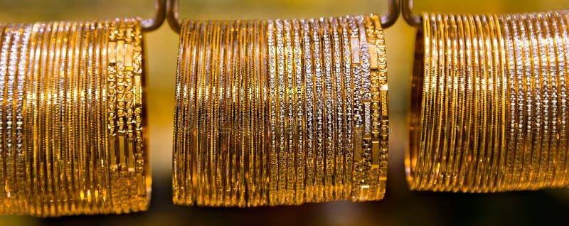 ювелирные изделия золота стоковая фотография