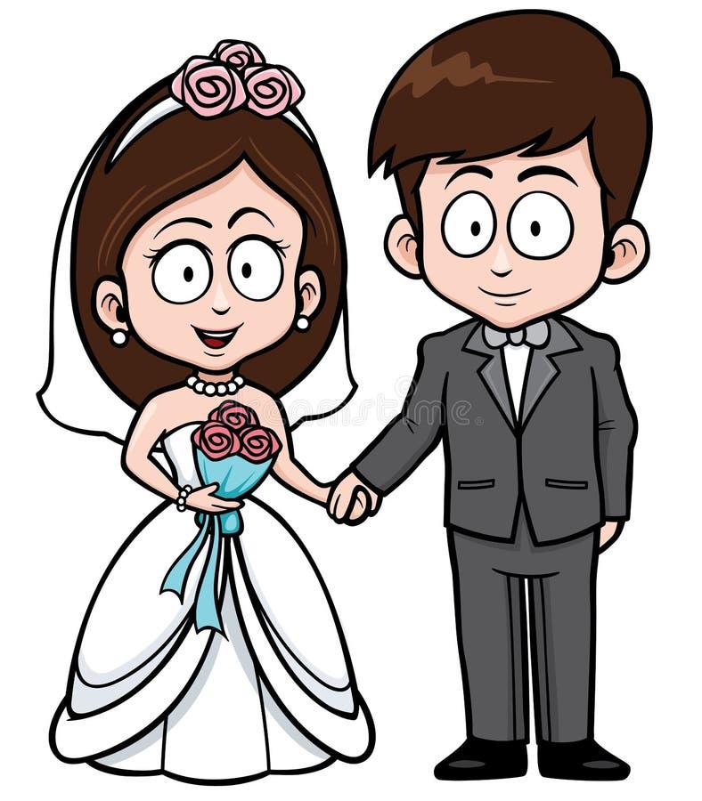 ювелирные изделия cravat пар кристаллические связывают венчание иллюстрация вектора