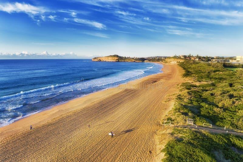 Юг серферов 2 пляжа Вейл d Mona стоковые изображения