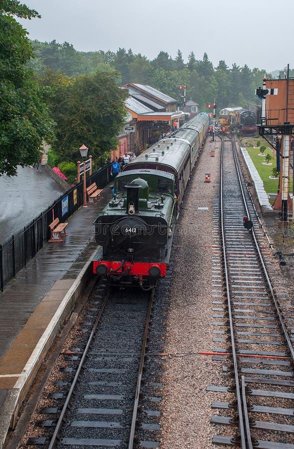 Южная железная дорога Девона (железная дорога наследия) стоковая фотография