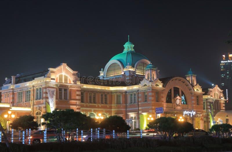 Южная Корея здания вокзала Сеула историческая стоковое фото rf