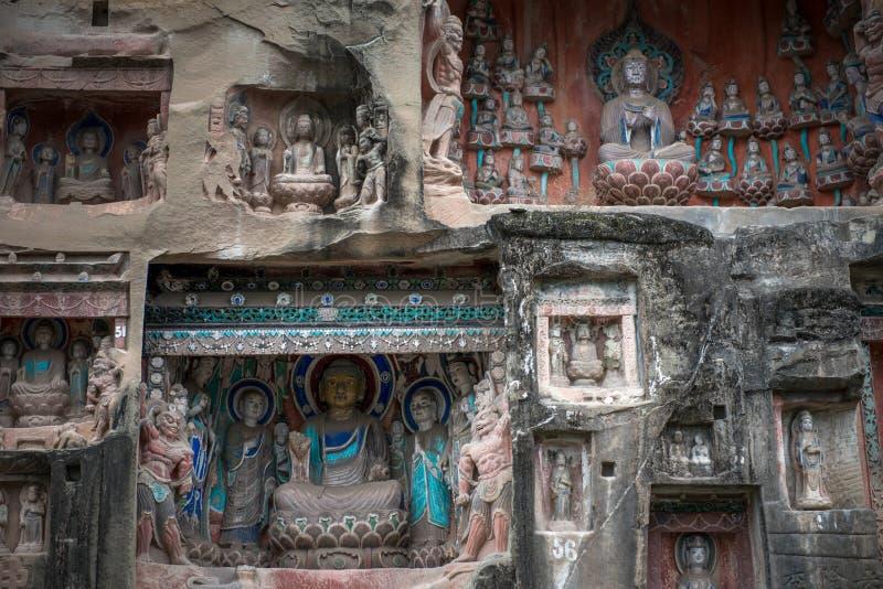 Южная статуя скалы ниши стоковое фото