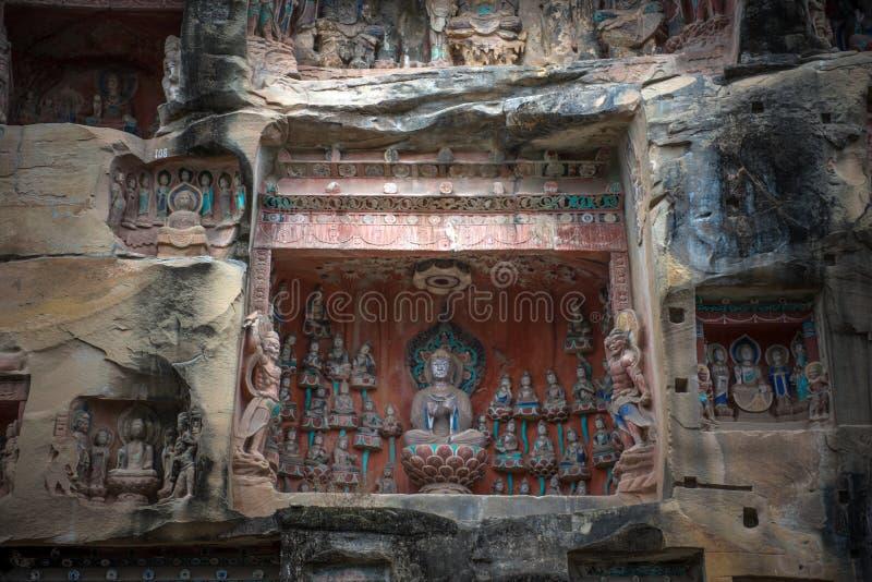 Южная статуя скалы ниши стоковая фотография