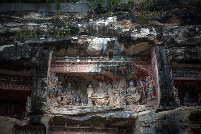 Южная статуя скалы ниши стоковые фотографии rf