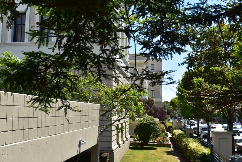 Южная Тихая океан больница повернула снабжение жилищем террасы пощады старшее, 6 стоковое изображение