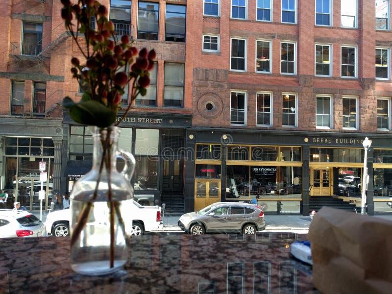 Южная улица Бостон стоковые фото