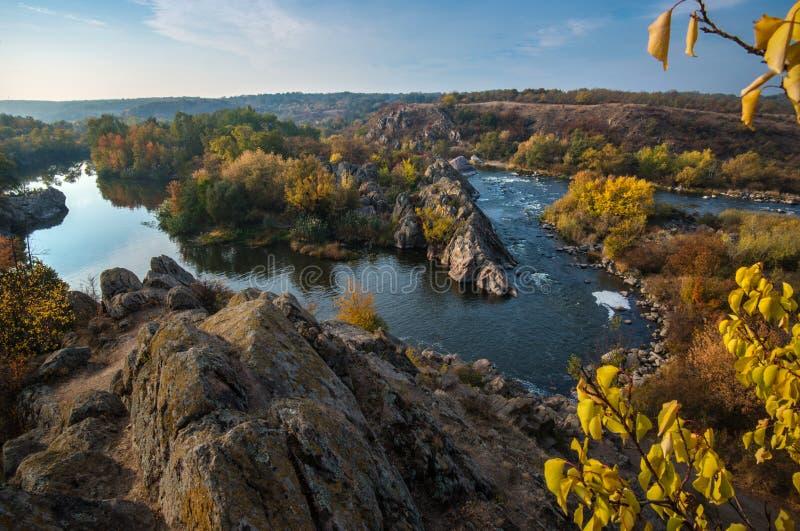 Южное река черепашки в сезоне осени стоковое фото