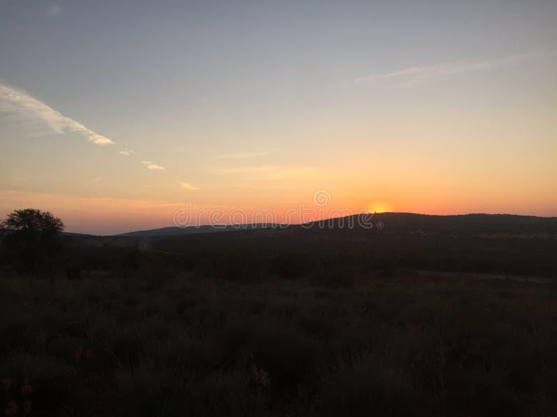 Южно-африканские горы стоковое фото