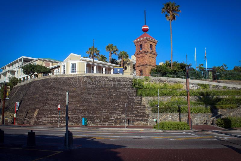 Южно-африканский взгляд национальной галереи, Кейптаун стоковое фото rf