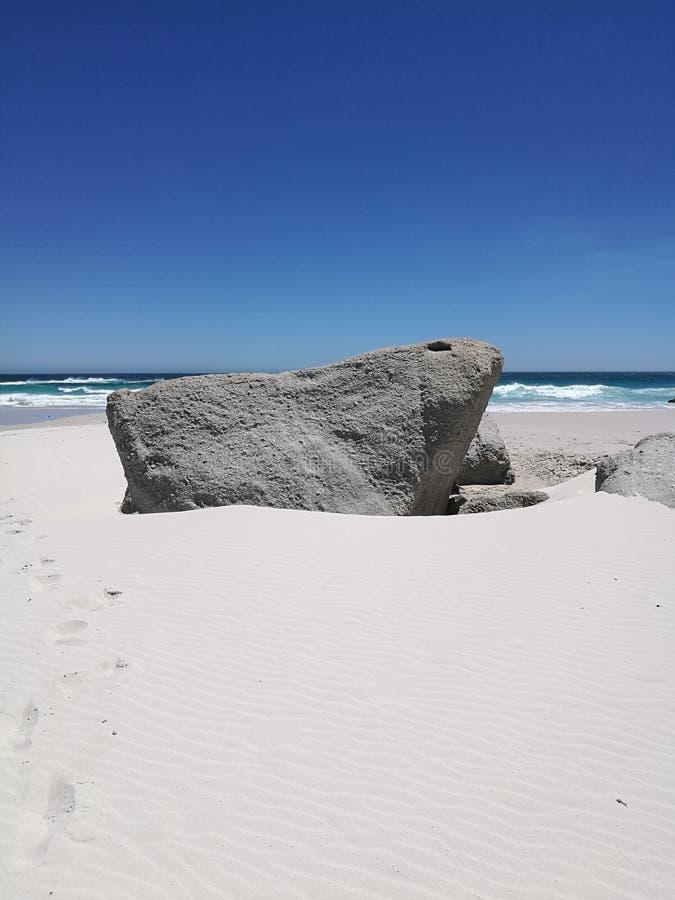 Южно - африканский пляж стоковые фотографии rf