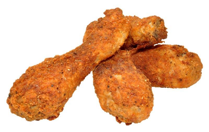 Южные Drumsticks жареной курицы стоковая фотография rf