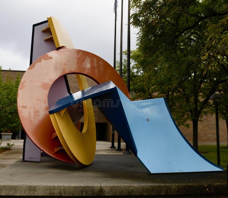 Южный взгляд скульптуры Riverview стоковые фото