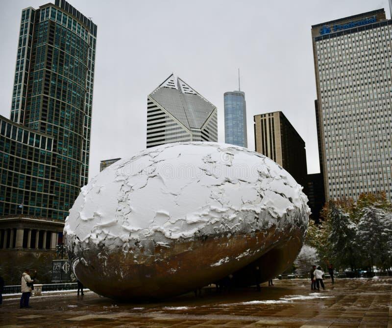 """Южный взгляд снега покрыл  """"Bean†стоковые изображения rf"""