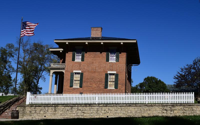 Южный взгляд Ulysses s Дом Grant стоковое фото