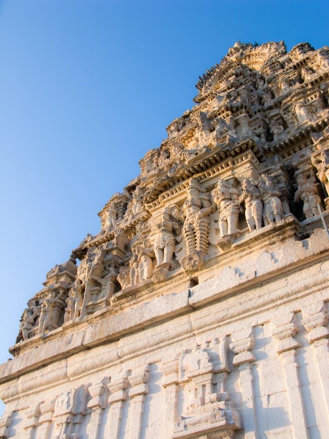 Южный индеец Gopuram стоковая фотография rf