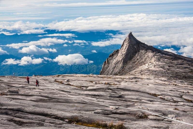 Южный пик держателя Kinabalu стоковое изображение