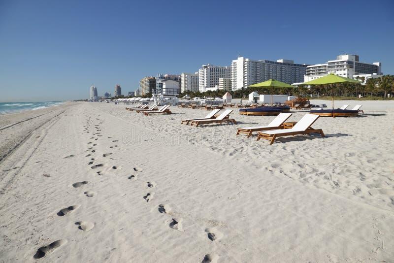 Южный пляж, Майами стоковая фотография rf