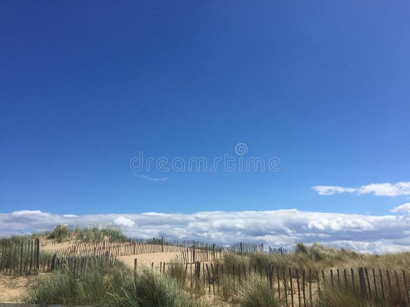 Южный пляж экранов стоковое изображение