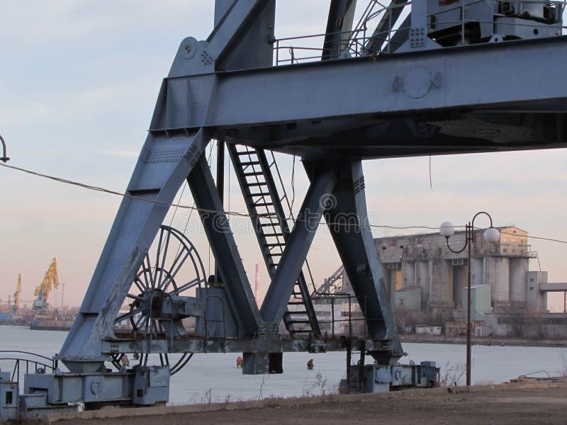 Южный порт в Москве стоковое изображение
