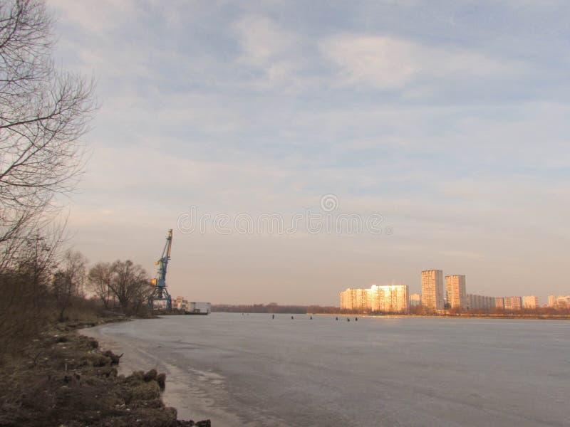 Южный порт в Москве стоковые изображения rf