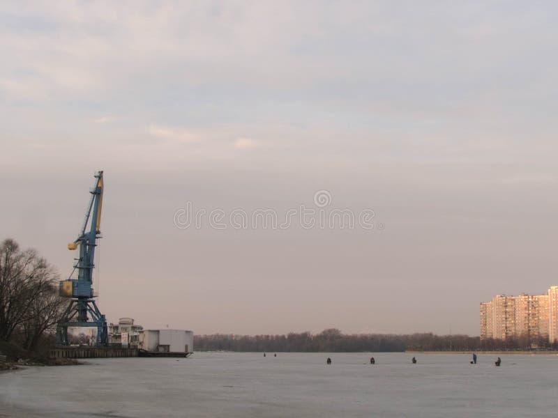 Южный порт в Москве стоковые изображения