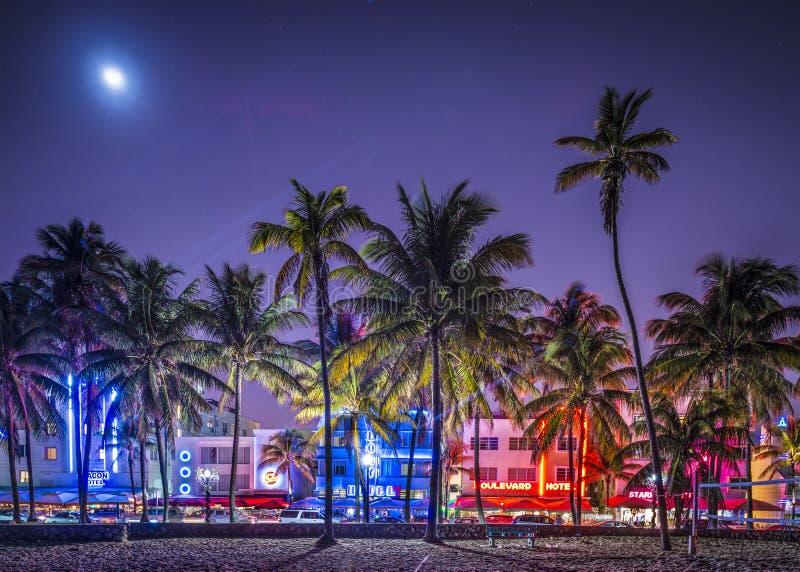 Южный пляж Майами стоковые фото