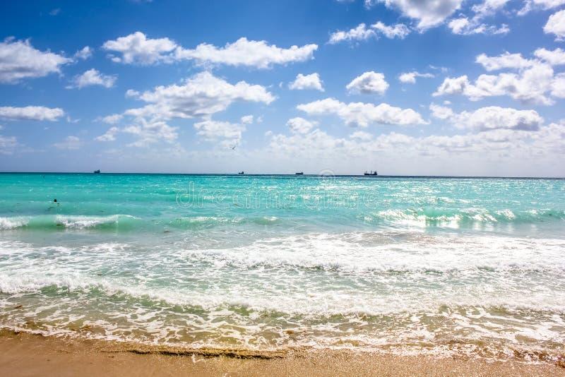 Южный пляж Флорида стоковое фото