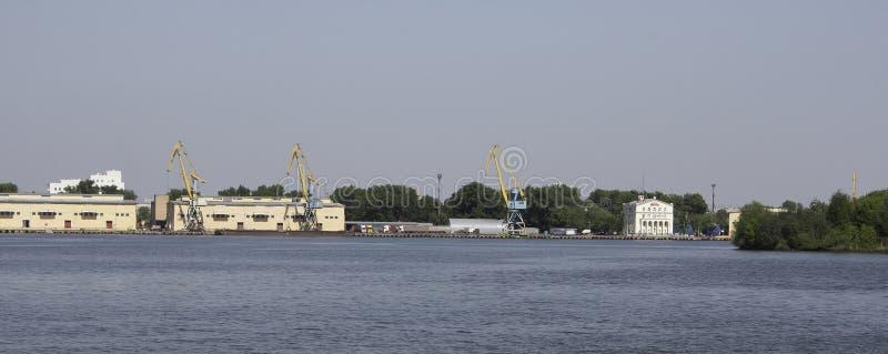 Южный речной порт стоковая фотография