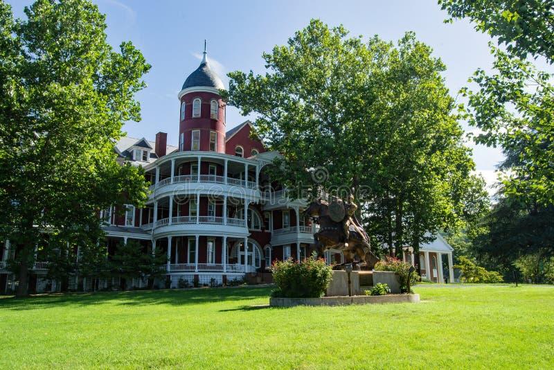 Южный университет Вирджинии стоковая фотография