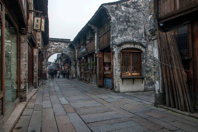 ----- 6 южных городков переулка Wuzhen стоковое изображение rf
