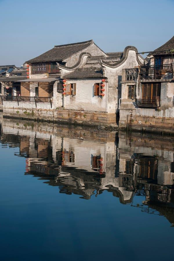 6 южных городков Xitang стоковая фотография
