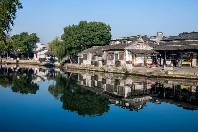 6 южных городков Xitang стоковые изображения