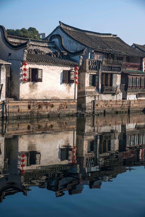 ----- 6 южных городков Xitang стоковые фотографии rf