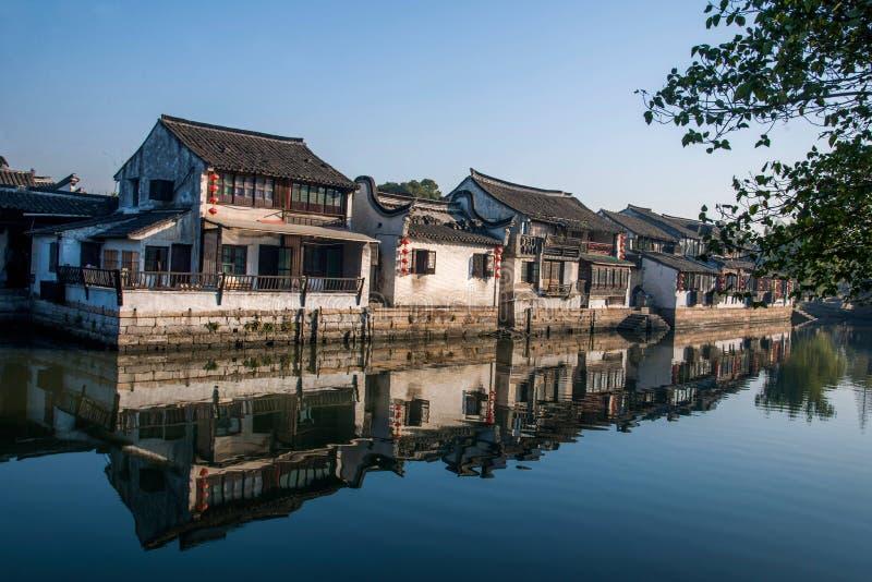 ----- 6 южных городков Xitang стоковые фото